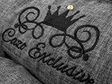 Pelech Cazo Noir King sivý 8