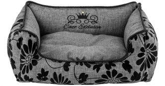 Pelech Cazo Noir sivý, je pelech pre odvážnych milovníkov domácich maznáčikov, zároveň spĺňavšetky náročné kritéria potrebné pre pohodlie vášho domáceho maznáčika, ktorými sú kvalita, komfort, moderný dizajn, originalita a jednoduchosť v údržbe.