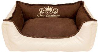 Pelech Cazo Exclusive kolekcia Royal béžová hnedá, je pelech pre odvážnych milovníkov domácich maznáčikov, zároveň spĺňavšetky náročné kritéria potrebné pre pohodlie vášho domáceho maznáčika, ktorými sú kvalita, komfort, moderný dizajn, originalita a jednoduchosť v údržbe.