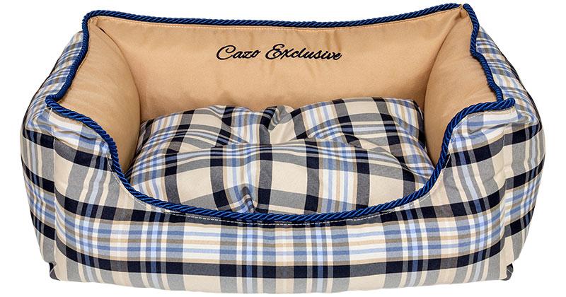 Pelech Cazo Exlusive kolekcia Royal Scotland, je pelech pre odvážnych milovníkov domácich maznáčikov, zároveň spĺňavšetky náročné kritéria potrebné pre pohodlie vášho domáceho maznáčika, ktorými sú kvalita, komfort, moderný dizajn, originalita a jednoduchosť v údržbe.