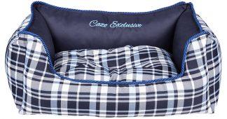 Pelech Cazo Exlusive kolekcia Royal Scotland blue, je pelech pre odvážnych milovníkov domácich maznáčikov, zároveň spĺňavšetky náročné kritéria potrebné pre pohodlie vášho domáceho maznáčika, ktorými sú kvalita, komfort, moderný dizajn, originalita a jednoduchosť v údržbe.