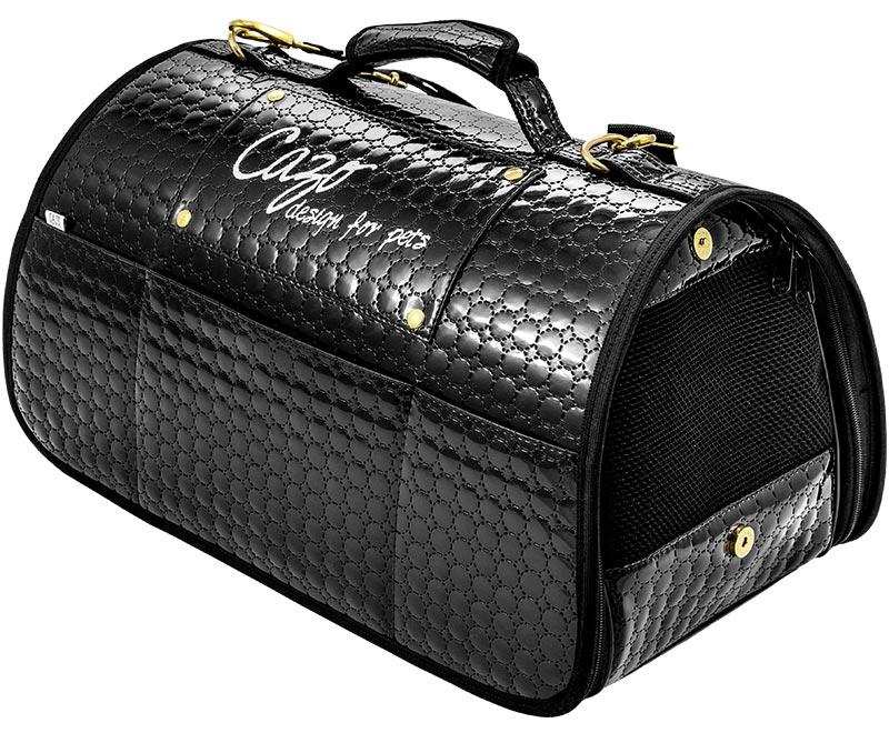 Transportná taška Cazo Black Diamond, spĺňavšetky náročné kritéria potrebné pre pohodlie pri transporte vášho domáceho maznáčika, ktorými sú bezpečnosť, kvalita, prievzdušnosť, komfort, moderný dizajn, originalita a jednoduchosť v údržbe.
