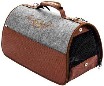 Transportná taška Cazo Exclusive hnedá, spĺňavšetky náročné kritéria potrebné pre pohodlie pri transporte vášho domáceho maznáčika, ktorými sú bezpečnosť, kvalita, prievzdušnosť, komfort, moderný dizajn, originalita a jednoduchosť v údržbe.