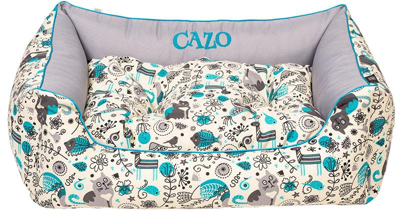 Pelech Cazo Print it Cat & Fish, je pelech pre odvážnych milovníkov domácich maznáčikov, zároveň spĺňavšetky náročné kritéria potrebné pre pohodlie vášho domáceho maznáčika, ktorými sú kvalita, komfort, moderný dizajn, originalita a jednoduchosť v údržbe.