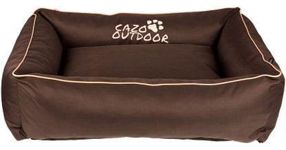 Pelech Cazo Outdoor Maxy brown, je pelech pre maxi aktívnychmilovníkov domácich maznáčikov, zároveň spĺňavšetky náročné kritéria potrebné pre pohodlie vášho domáceho maznáčika, ktorými sú kvalita, komfort, moderný dizajn, originalita a jednoduchosť v údržbe.
