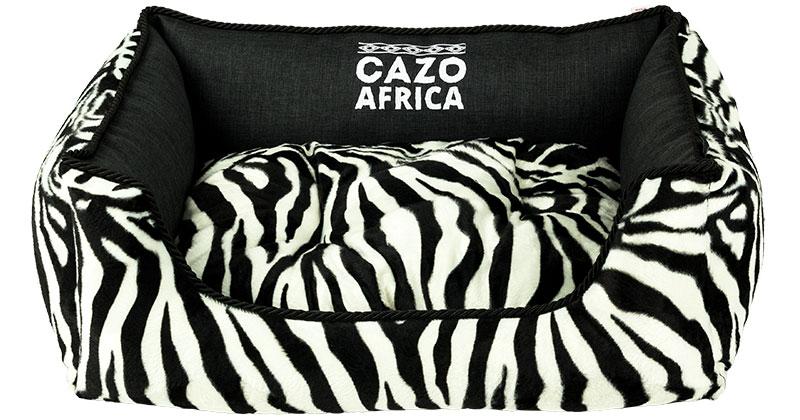 Pelech Cazo Africa, je pelech pre odvážnych milovníkov domácich maznáčikov, zároveň spĺňavšetky náročné kritéria potrebné pre pohodlie vášho domáceho maznáčika, ktorými sú kvalita, komfort, moderný dizajn, originalita a jednoduchosť v údržbe.