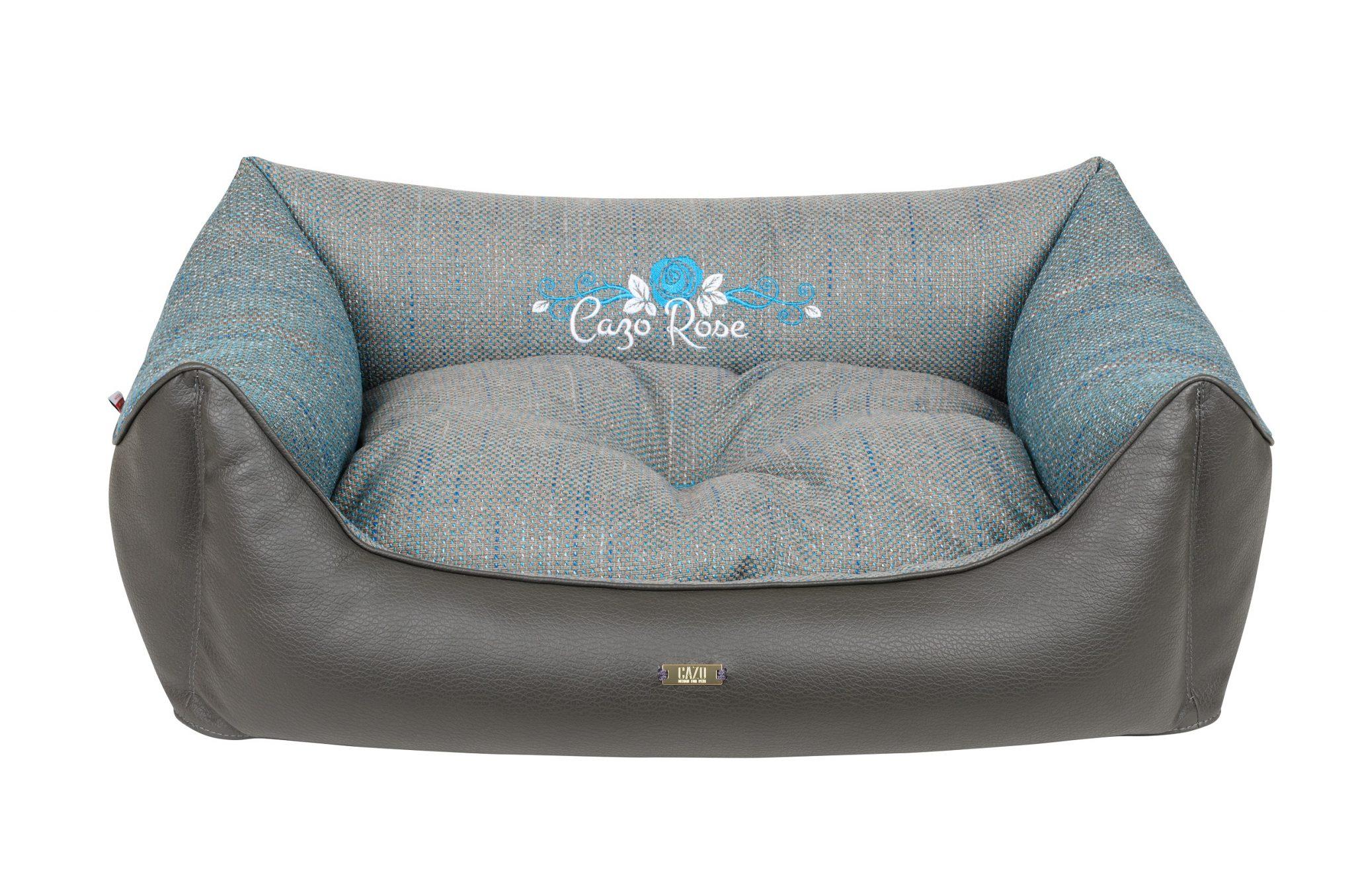 Pelech Cazo Blue rose je pohodlný a kvalitný pelech pre psa alebo mačku. Moderný dizajn, komfort, kvalitné spracovanie materiálov a jednoduchá údržba.
