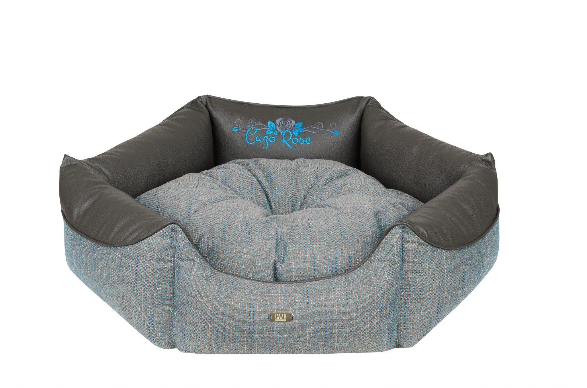Pelech Cazo Blue King rose je pohodlný a kvalitný pelech pre psa alebo mačku. Moderný dizajn, komfort, kvalitné spracovanie materiálov a jednoduchá údržba.
