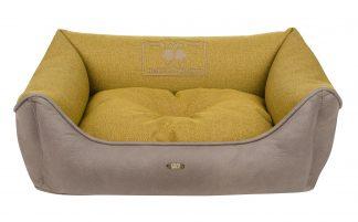 Pelech Cazo Baker street žltá je pohodlný a kvalitný pelech pre psa alebo mačku. Moderný dizajn, komfort, kvalitné spracovanie materiálov a jednoduchá údržba.