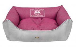 Pelech Cazo Baker street ružová je pohodlný a kvalitný pelech pre psa alebo mačku. Moderný dizajn, komfort, kvalitné spracovanie materiálov a jednoduchá údržba.