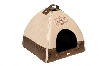Domček Cazo Classy hnedý, spĺňa všetky náročné kritéria potrebné pre pohodlie vášho domáceho maznáčika, ktorými sú kvalita, komfort, moderný dizajn, originalita a jednoduchosť v údržbe.