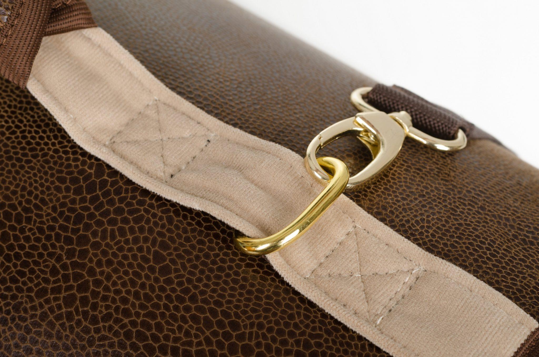 Transportná taška Cazo Classy hnedá 2