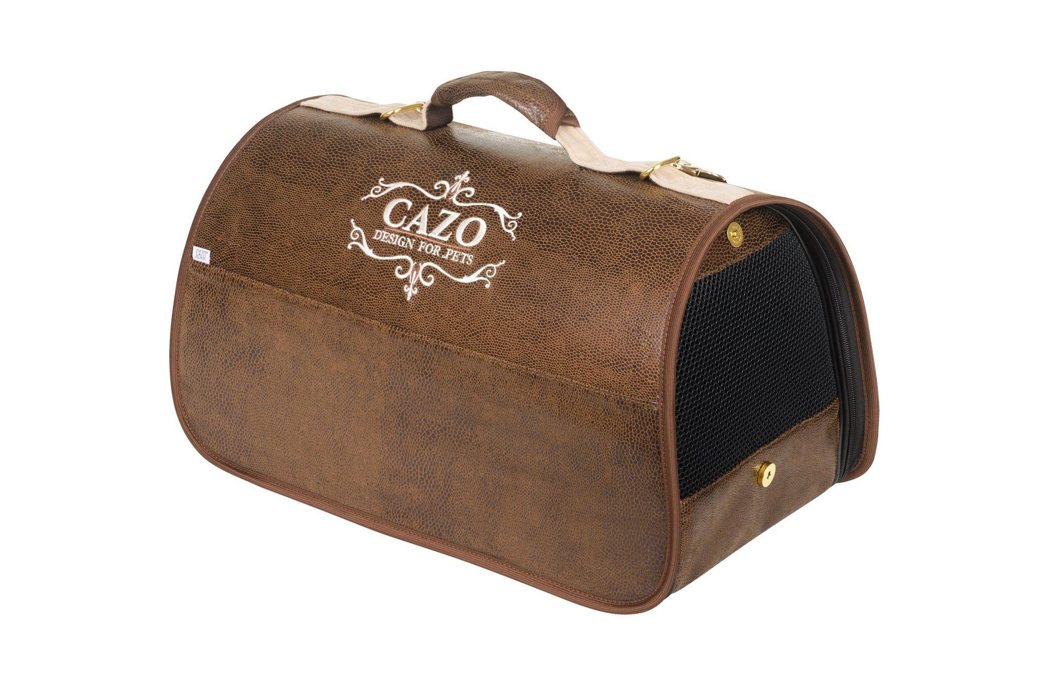 Transportná taška Cazo Classy hnedá 1