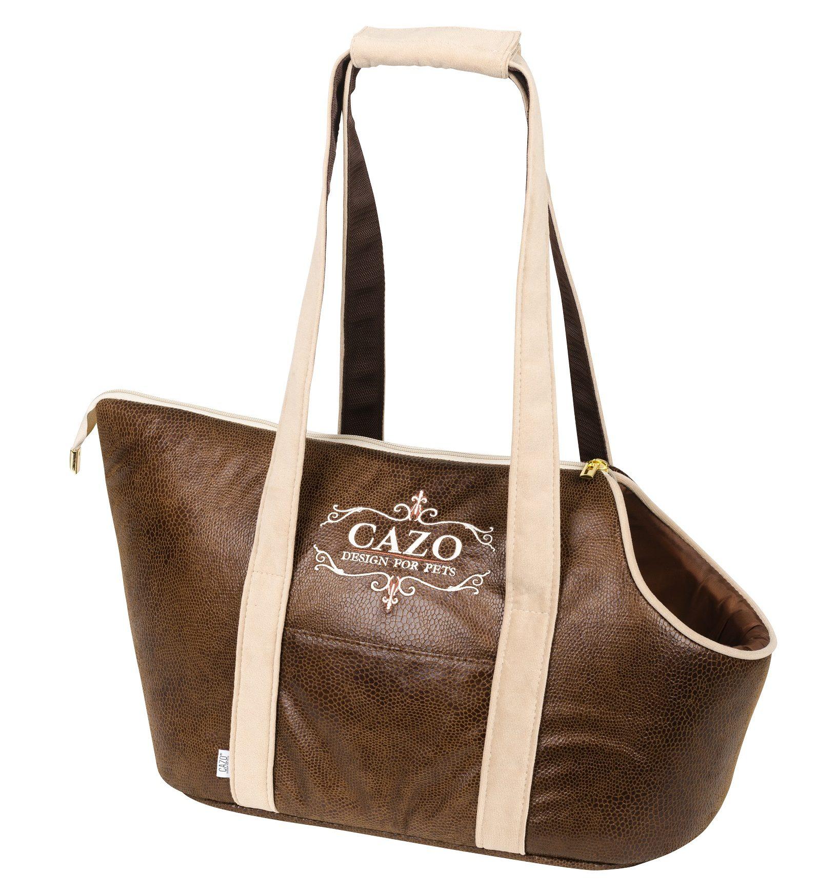 Cestovná taška Cazo Classy hnedá, spĺňa všetky náročné kritéria potrebné pre pohodlie pri transporte vášho domáceho maznáčika, ktorými sú kvalita, komfort, moderný dizajn, originalita a jednoduchosť v údržbe.
