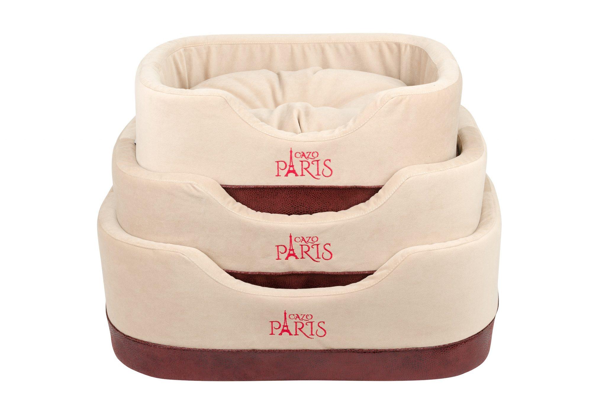 Pelech Cazo Paris King béžový set 1