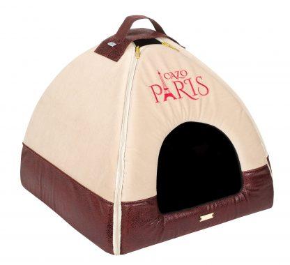 Domček Cazo Paris béžový, spĺňa všetky náročné kritéria potrebné pre pohodlie vášho domáceho maznáčika, ktorými sú kvalita, komfort, moderný dizajn, originalita a jednoduchosť v údržbe.
