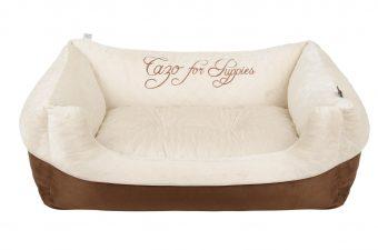 Pelech Cazo Puppy béžová je pohodlný a kvalitný pelech pre psa alebo mačku. Moderný dizajn, komfort, kvalitné spracovanie materiálov a jednoduchá údržba.