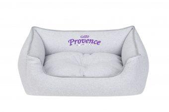 Pelech Cazo Provence sivá je pohodlný a kvalitný pelech pre psa alebo mačku. Moderný dizajn, komfort, kvalitné spracovanie materiálov a jednoduchá údržba.