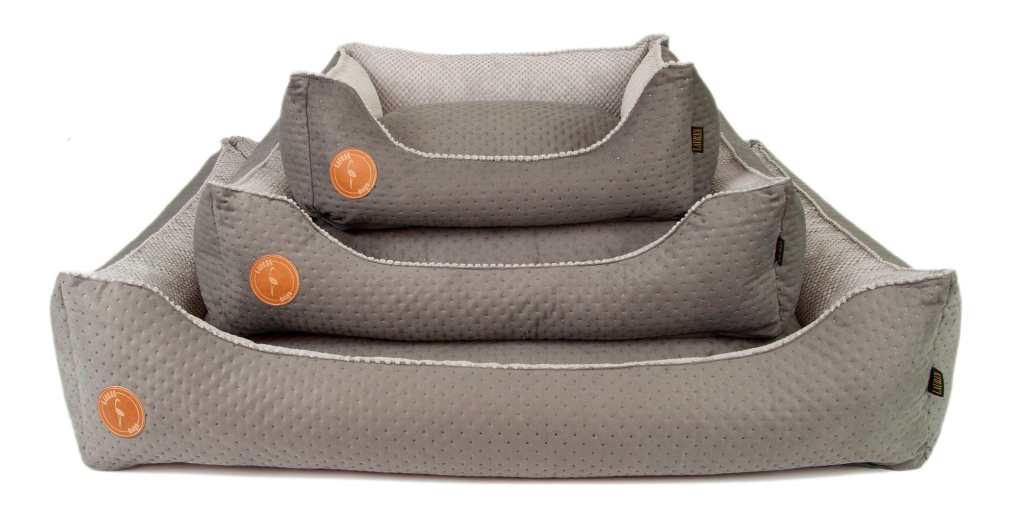 Pelech pre psa Lauren CEZAR S-M a XL šedý-3 veľkosť XL  100cm x 079d85d5ea6