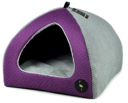 Domček pre psa a mačku BELLA - fialový