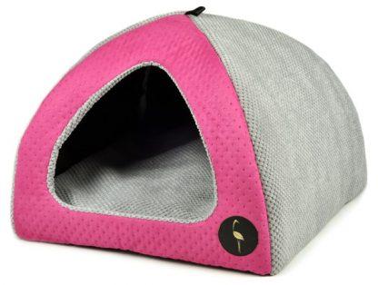 Domček pre psa a mačku BELLA - ružový