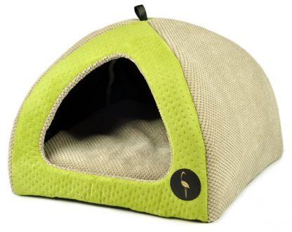 Domček pre psa a mačku BELLA - zelený