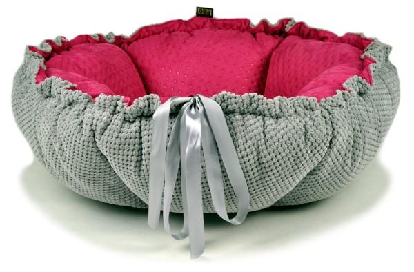 pelech pre psa - pelechyprepsy-lauren-design fialovy ruzovy opak
