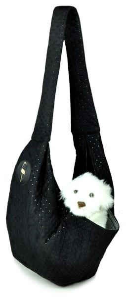 Prenosná taška pre psa Lilly - čierna
