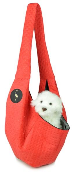 Prenosná taška pre psa Lilly - červená