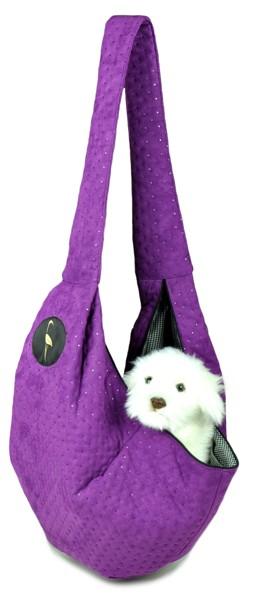 Prenosná taška pre psa Lilly - fialová