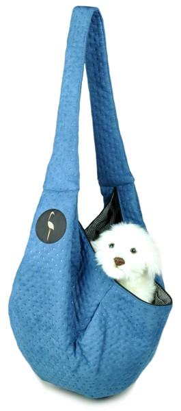 Prenosná taška pre psa Lilly - modrá
