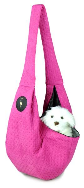 Prenosná taška pre psa Lilly - ružová