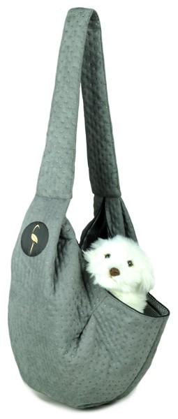 Prenosná taška pre psa Lilly - sivá