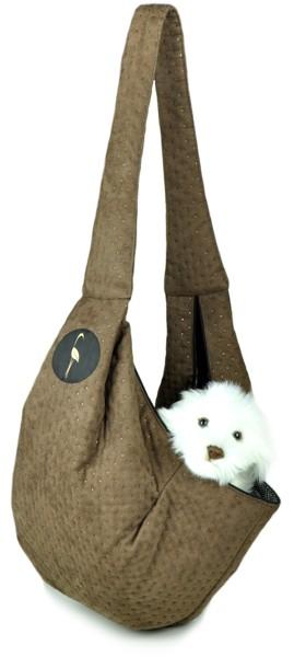 Prenosná taška pre psa Lilly - tmavozelená