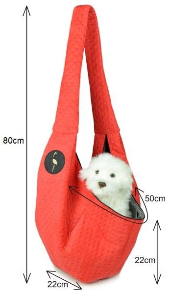 Prenosná taška pre psa Lilly (rozmery)