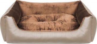 Pelech Cazo Mamut hnedý je pohodlný a kvalitný pelech pre psa alebo mačku. Moderný dizajn, komfort, kvalitné spracovanie materiálov a jednoduchá údržba. Dostupný je v dvochveľkostiach: S - veľkosť L1400/A:  65 x 50 cm M - veľkosť L1400/B:  75 x 60 cm