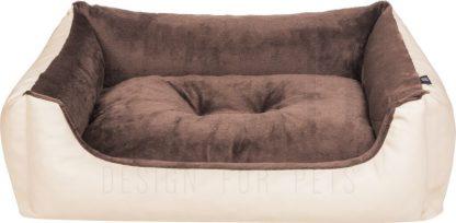 Pelech Cazo Mamut béžový je pohodlný a kvalitný pelech pre psa alebo mačku. Moderný dizajn, komfort, kvalitné spracovanie materiálov a jednoduchá údržba. Dostupný je v dvochveľkostiach: S - veľkosť L1410/A:  65 x 50 cm M - veľkosť L1410/B:  75 x 60 cm