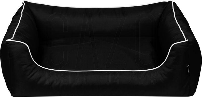 Pelech Cazo Outdoor Maxy čierna Kolekcia pelechov Cazo Outdoor je vyvinutá pre použitie vo vonkajšom prostredí, špeciálny materiál Kodura je odolný voči poveternostným náročným podmienkam a taktiež voči odretiu. - pelech pre psa 3 veľkosti S, M a XXL - vhodný aj na vonkajšie použitie - XXL rozmer 120 cm pelech pre veľké plemená psov