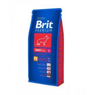 Brit Premium Adult L 15 kg Druh mäsa: kuracie mäso Vek psa: dospelý Vhodné pre plemená: veľké plemená Kvalita : prémiové Kód: Brit L15 Záruka: 24 mesiacov