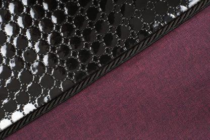 matrac pre psa black diamond bordová detail 1