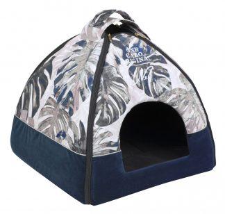 Domček pre psa Original one modrý, spĺňavšetky náročné kritéria potrebné pre pohodlie vášho domáceho maznáčika, ktorými sú kvalita, komfort, moderný dizajn, originalita a jednoduchosť v údržbe. Vhodný domček pre psíka menšieho plemena ale mačku. Uni - veľkosť LCRB0601: 47 v x 46 x 40 cm