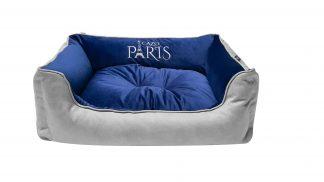 Pelech pre psa Paris modrá s praktickým a snímateľným poťahom je vyrobený z materiálu odolného proti poškodeniu od pazúrikov psíkov alebo mačiek. Jednoduchá údržba napomôže udržiavať pelech a hlavne váš interiér v čistote. Pelech tvorí jedinečnú izoláciu proti chladu z podlahy a zároveň zaisťuje jeho dostatočnú priedušnosť. Snímateľný poťah je možné prať ručne alebo v automatickej práčke. Dostupný v dvoch veľkostiach : S -veľkosť LFRN0101/A: 65 x 50 cm M - veľkosť LFRN0101/B: 75 x 60 cm