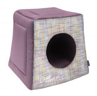 Domček pre psa Impressionist bordový svetlý je pohodlný a útulný domček, určený pre vášho domáceho maznáčika, v ktorom sa bude cítiť výnimočne. Zároveň slúži ako výborný dizajnový doplnok pre vybavenie vášho interiéru. Dostupný je v uvedenej veľkosti: Uni - veľkosť LMPF0801: 40 v x 40 x 38 cm