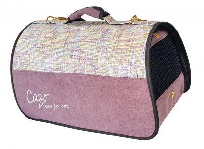 Transportná taška Impressionist bordová svetlá, je vhodná na transport vášho psa alebo mačky do hmotnosti 5 kg. Spĺňavšetky náročné kritéria potrebné pre pohodlie pri transporte vášho domáceho maznáčika, ktorými sú bezpečnosť, kvalita, vzdušnosť, komfort, moderný dizajn, originalita a jednoduchosť v údržbe. Transportná taška je dostupná uni veľkosti: Rozmery : LMPF0901 : 50 x 27 x 26 cm