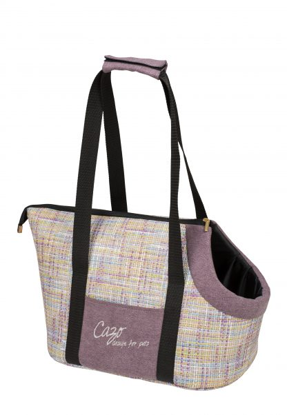 Taška pre psa Impressionist bordová svetlájemoderná prepravná taška pre psa vo svetlo bordovej farbe. Veľmi ľahká a praktická taška, ktorá Vám prakticky poslúži pri bežných nákupoch.V moderne spracovanom štýle, je zároveň aj Vašim módnym doplnkom. Taška je dostupná v uvedenej veľkosti: Rozmery : 30 × 40 × 24 cm Kód : LMPF1001