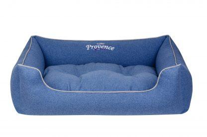 Pelech Cazo Provence modrá, kvalitne spracovaný pelech pre psa, zabezpečí maximálne pohodlie pre vášho domáceho miláčika. Dostupné v ponuke aj farebné prevedenia biela a levanduľa (viď. foto)alebo domček pre psa. Dostupný je v trochveľkostiach: S - veľkosť LPVB0101/A:  65 x 50 cm M - veľkosť LPVB0101/B:  75 x 60 cm XL - veľkosť LPBL0101/C:  95 x 75 cm