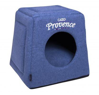 Domček pre psa Provence modrá je pohodlný a útulný domček, určený pre vášho domáceho maznáčika, v ktorom sa bude cítiť výnimočne. Zároveň slúži ako výborný dizajnový doplnok pre vybavenie vášho interiéru. Dostupný aj vo farebnom prevedení levanduľa a sivá. Dostupný je v uvedenej veľkosti: Uni - veľkosť LPVB0801: 40 v x 40 x 38 cm