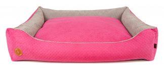Pelech pre psa Lauren CEZAR | ružová. Moderný a kvalitný pelech, odolnosť proti odieraniu, jednoduchá údržba, 3 dostupné veľkosti.